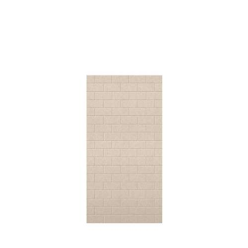 Monterey 36-in x 72-in Glue to Wall Tub Wall Panel, Butternut/Tile