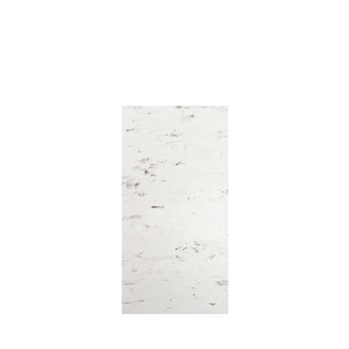 Monterey 36-in x 72-in Glue to Wall Tub Wall Panel, Carrara/Velvet