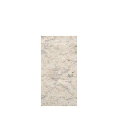 Monterey 36-in x 72-in Glue to Wall Tub Wall Panel, Creme/Velvet