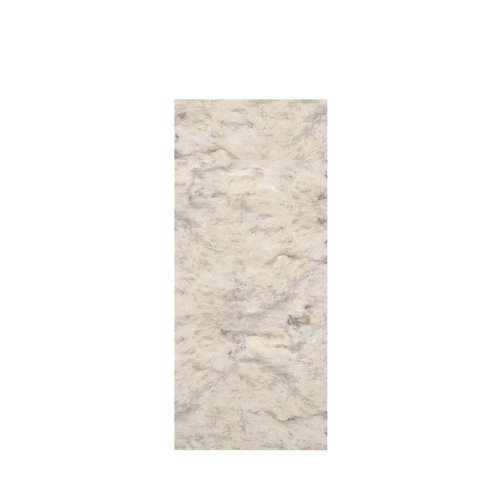 Monterey 36-in x 84-in Glue to Wall Tub Wall Panel, Creme/Velvet