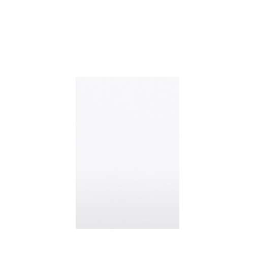 Monterey 48-in x 72-in Glue to Wall Tub Wall Panel, White/Velvet