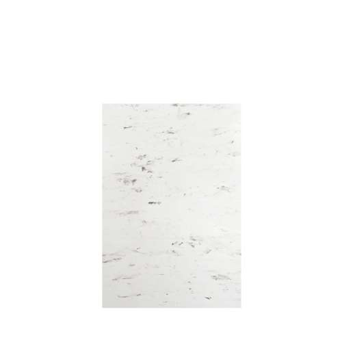 Monterey 48-in x 72-in Glue to Wall Tub Wall Panel, Carrara/Velvet