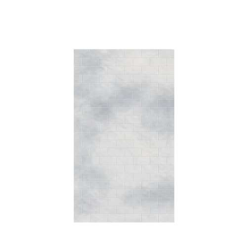 Monterey 48-in x 84-in Glue to Wall Tub Wall Panel, Moon Stone/Tile