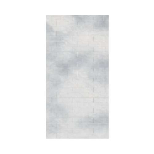 Monterey 48-in x 96-in Glue to Wall Wall Panel, Moon Stone/Tile