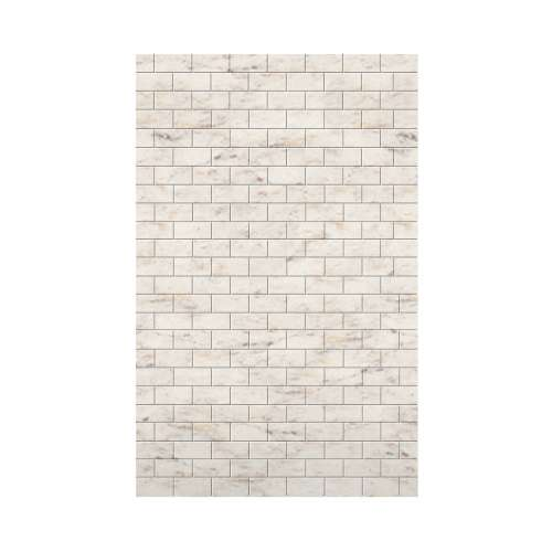 Monterey 60-in x 96-in Glue to Wall Wall Panel, Butterscotch/Tile
