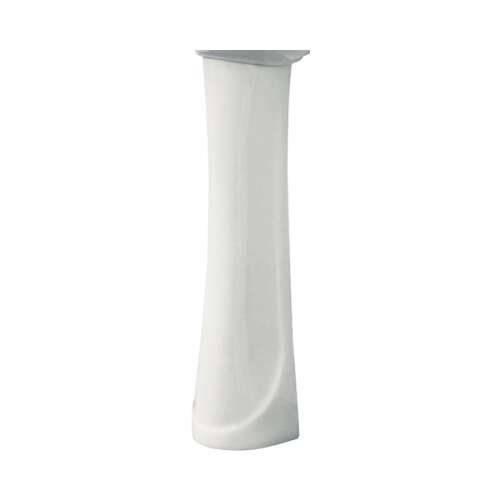 Samuel Mueller Millwood Grande Vitreous China Pedestal Leg for use with TL-1414 Lavatory Sink, in White