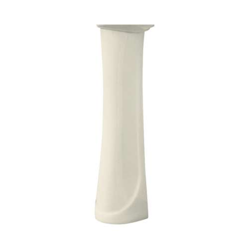 Samuel Mueller Millwood Grande Vitreous China Pedestal Leg for use with TL-1414 Lavatory Sink, in Biscuit