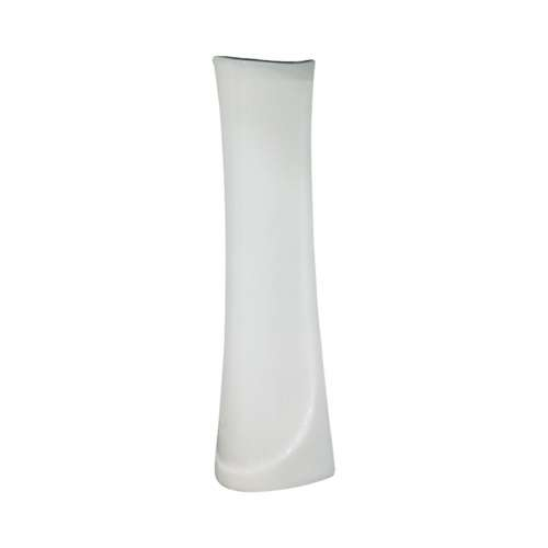 Samuel Mueller Millwood Petite Vitreous China Pedestal Leg for use with TL-1444 Lavatory Sink, in White