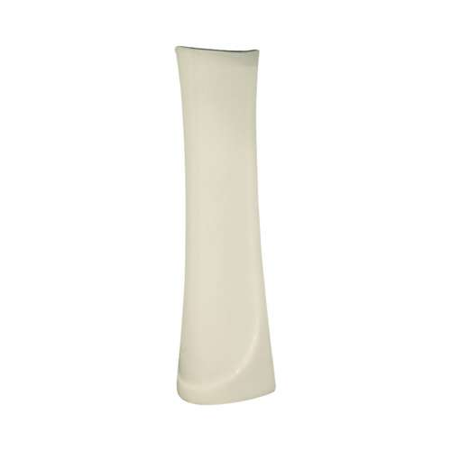 Samuel Mueller Millwood Petite Vitreous China Pedestal Leg for use with TL-1444 Lavatory Sink, in Biscuit