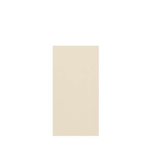 Silhouette 36-in x 72-in Glue to Wall Tub Wall Panel, Biscuit