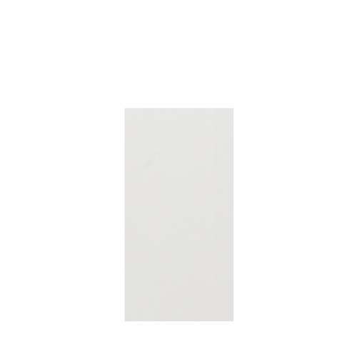 Silhouette 36-in x 72-in Glue to Wall Tub Wall Panel, Grey