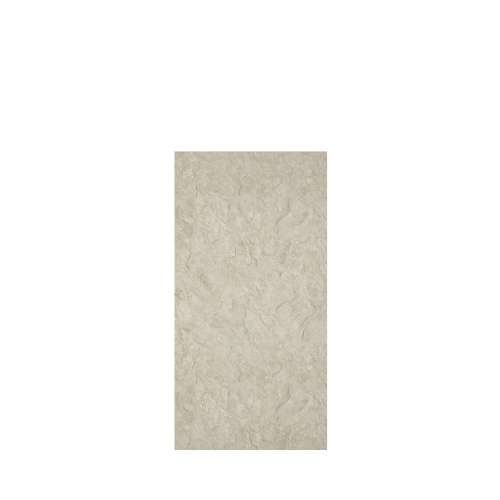 Silhouette 36-in x 72-in Glue to Wall Tub Wall Panel, Tundra