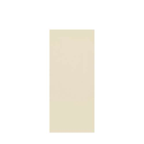 Silhouette 36-in x 84-in Glue to Wall Tub Wall Panel, Biscuit