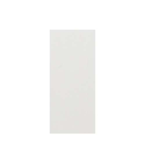 Silhouette 36-in x 84-in Glue to Wall Tub Wall Panel, Grey