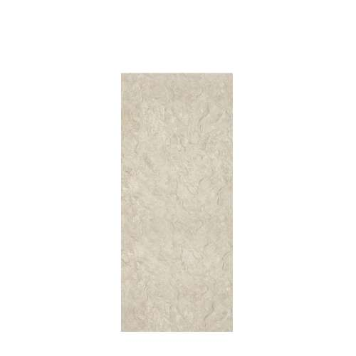 Silhouette 36-in x 84-in Glue to Wall Tub Wall Panel, Tundra