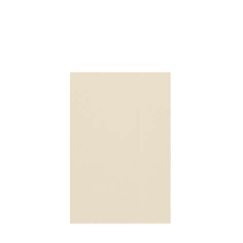 Silhouette 48-in x 72-in Glue to Wall Tub Wall Panel, Biscuit