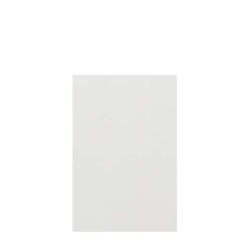 Silhouette 48-in x 72-in Glue to Wall Tub Wall Panel, Grey