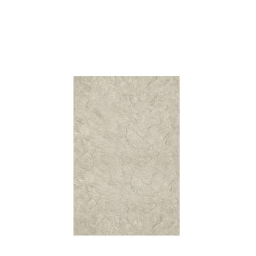 Silhouette 48-in x 72-in Glue to Wall Tub Wall Panel, Tundra