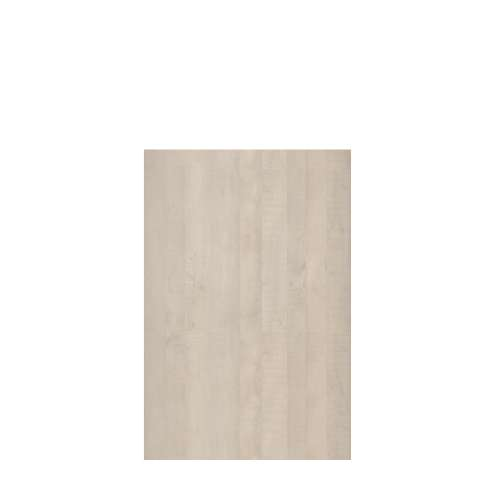 Silhouette 48-in x 72-in Glue to Wall Tub Wall Panel, Washed Oak