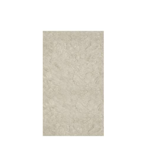 Silhouette 48-in x 84-in Glue to Wall Tub Wall Panel, Tundra
