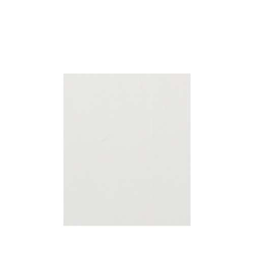 Silhouette 60-in x 72-in Glue to Wall Tub Wall Panel, Grey