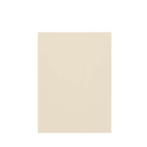 Silhouette 60-in x 84-in Glue to Wall Tub Wall Panel, Biscuit