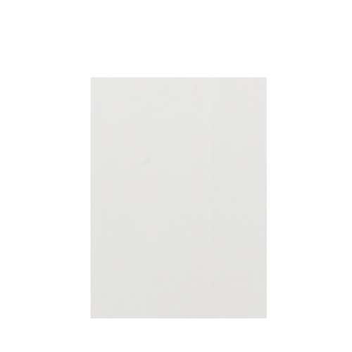 Silhouette 60-in x 84-in Glue to Wall Tub Wall Panel, Grey