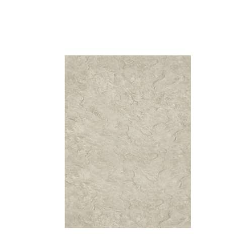 Silhouette 60-in x 84-in Glue to Wall Tub Wall Panel, Tundra